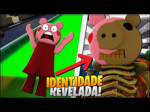 (New) Identidade do esqueleto revelado *historia* da piggy no roblox 😱