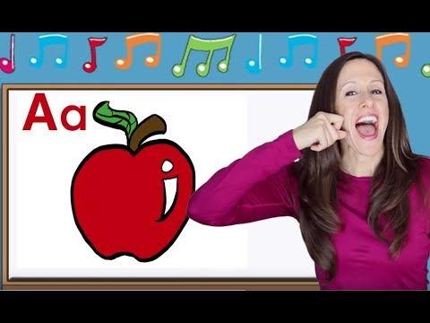 (VFHD Online) Phonics song for children | alphabet song | letter sounds | signing for babies | asl | patty shukla