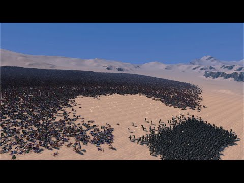 (New) 100000 romans vs 1000 german ww2 soldiers - ultimate epic battle simulator uebs