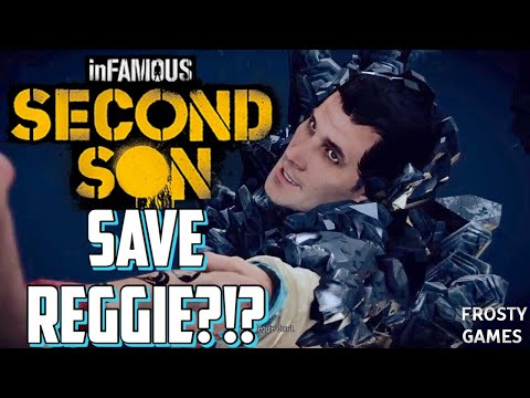 (New) Infamous second son how to save reggie?!?