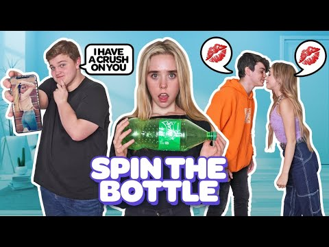 (HD) Last to say no to spin the bottle *kiss challenge😘💋**