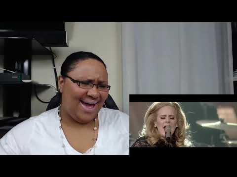 (New) Adele fire in the rain at royal albert hall reaction