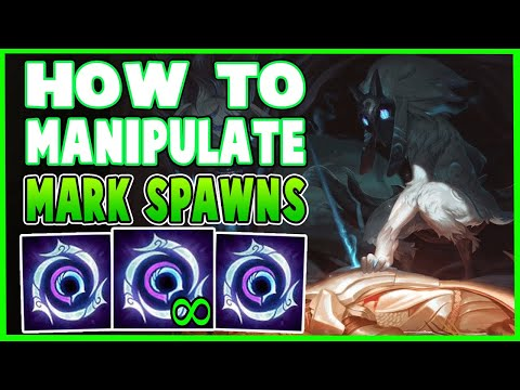 (New) How to manipulate kindred marks spawns to spawn where you want! kindred jg! - 10.8 league of legends