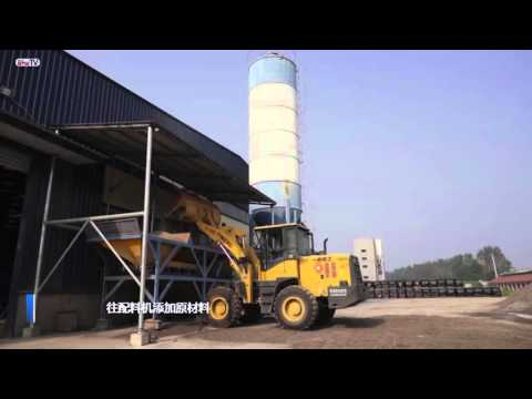 (HD) 全自动混凝土制砖机full auto concrete block machine máquina de tijolo de concreto