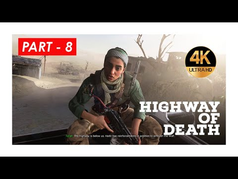 (New) Call of duty mw 2019 | 4k | campaign | part - 8 | highway of death