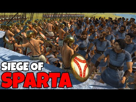 (New) Can spartan hoplites hold the city defenses!? - rome total war: remastered