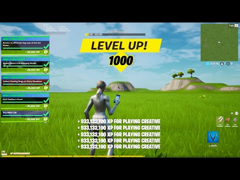 (New) Fortnite unlimited xp glitch