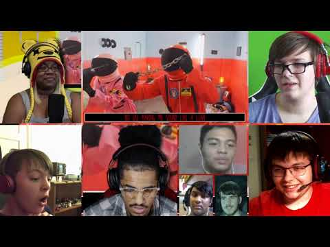 (New) Emergency meeting: an among us song [by random encounters] [reaction mash-up]#943