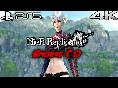 (New) Nier replicant ps5 gameplay walkthrough full game ending c e d (4k 60fps)