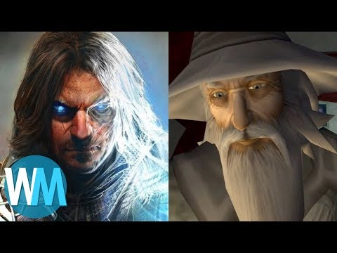 (New) Top 10 best e worst lord of the rings games!