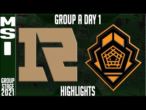 (New) Rng vs pgg highlights | msi 2021 day 1 group a | royal never give up vs pentanet gg