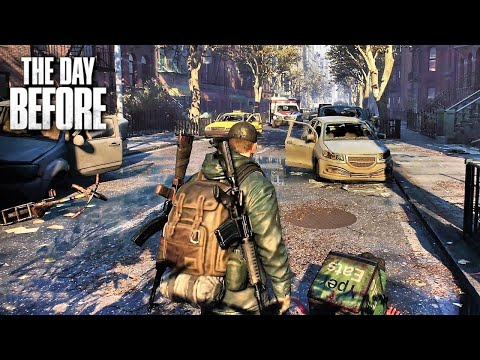 (New) The day before new gameplay trailer 4k (new post-apocalyptic zombie game 2021)