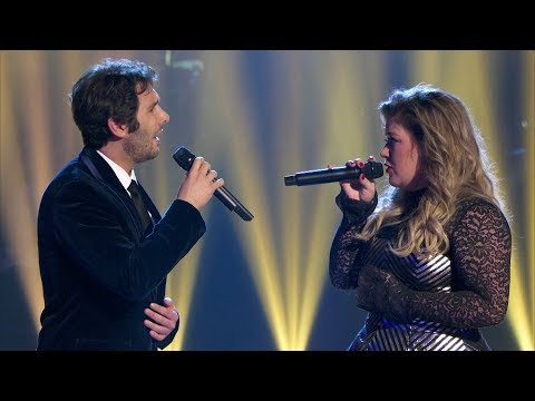 (New) Josh groban e kelly clarkson - all i ask of you (a home for the holidays)