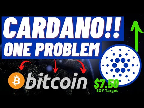 (New) Cardano ada one problem right now..... hold on! this party will get started soon!!! cardano update