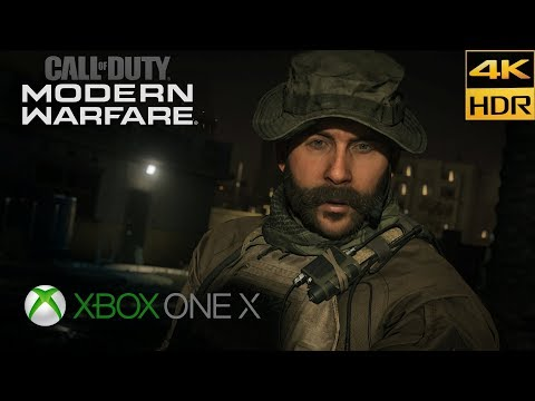 (New) Call of duty: modern warfare 4k hdr xbox one x walkthrough gameplay part #7 embassy no commentary
