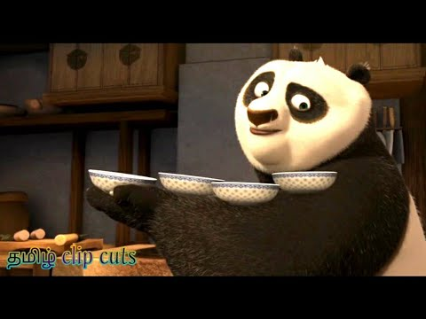 (Ver Filmes) Po try to escape from temple scene | kung fu panda(2008) | tamil