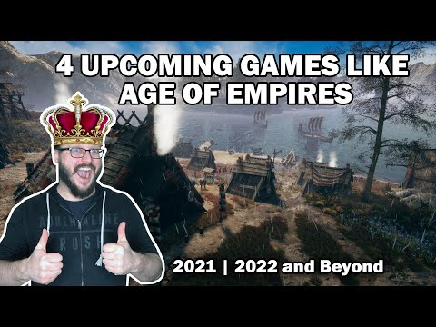 (New) 4 upcoming rts games like age of empires | 2021, 2022 e beyond!