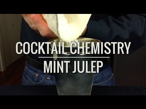 (HD) Basic cocktails - how to make a mint julep