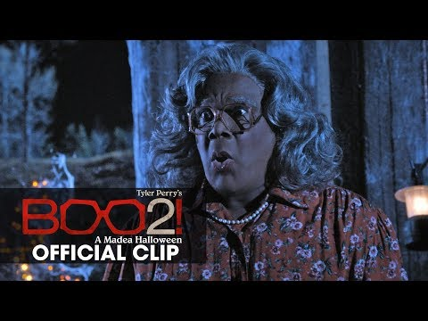 "(New) Boo 2! a madea halloween (2017 movie) official clip ""outhouse"" – tyler perry"