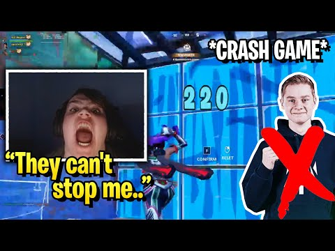 (New) Mongraal goes god mode in solo trio arena after mitr0 crashes the game and this happens..