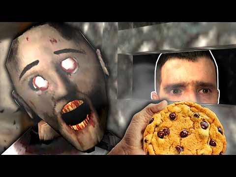 (New) Hiding from granny but she has cookies! - garrys mod gameplay