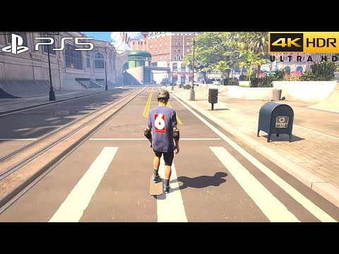 (New) Tony hawks pro skater 1 + 2 (ps5) 4k 60fps hdr gameplay - (ps5 version)