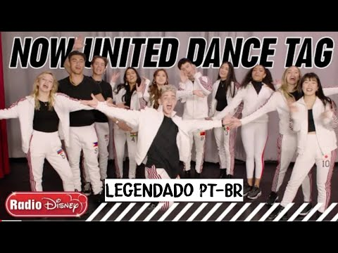(Ver Filmes) Dance tag challenge | now united | radio disney • (legendado pt-br)