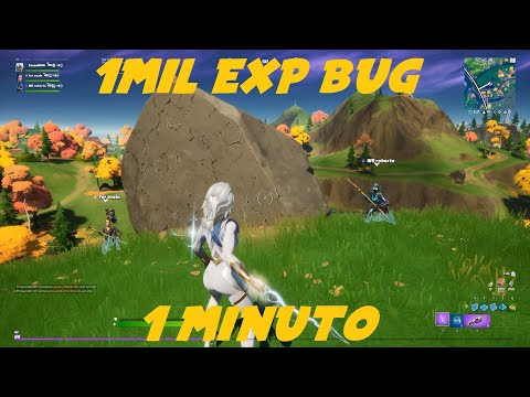 (New) Fortnite novo bug exp 1mil por minuto temporada 4 capítulo 2