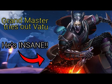 (New) [paladins] grand master plays vatu | new champion pts gameplay