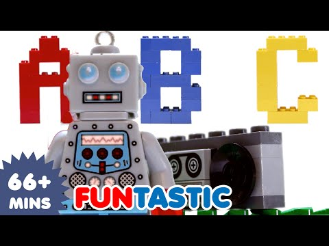 (VFHD Online) Abc song | lego alphabet song | abcs | nursery rhymes | canções infantis