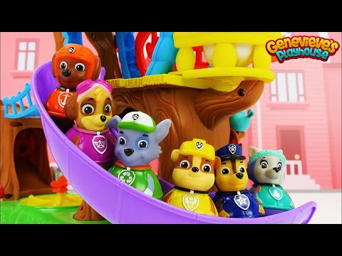 (Ver Filmes) Weeble toy treehouse featuring paw patrol weebles!