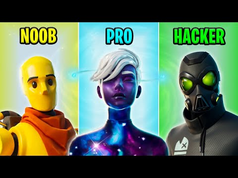 (VFHD Online) Noob vs pro vs hacker - fortnite funny moments #35