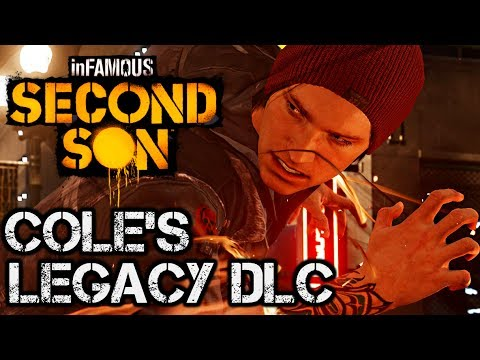 (New) Infamous second son - coles legacy full walkthrough pre-order dlc (limited edition) [hd] 1080p