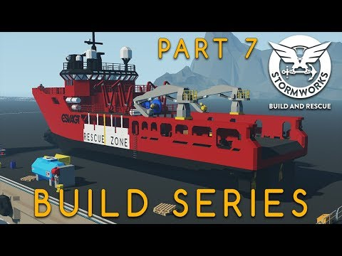 (New) Stormworks - new ship!!!! - build series part 7