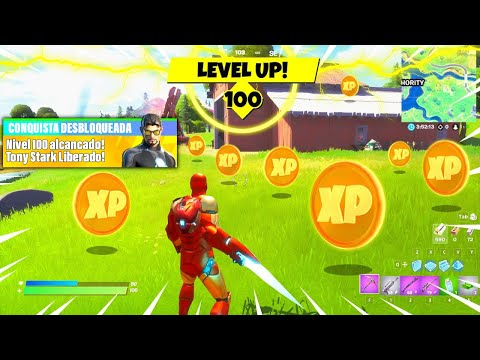 (HD) Fortnite como upar rapido level 1000! xp hack glitch