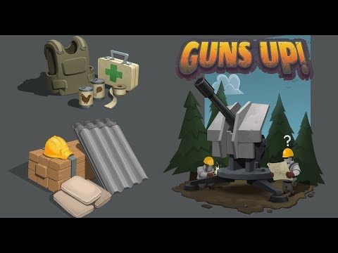 (New) Guns up! - structures max level and stats
