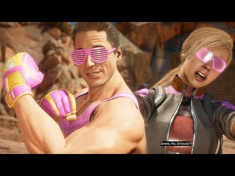 (New) Mortal kombat 11 - johnny cage vs cassie cage all intro dialogues @ 1080p (60ᶠᵖˢ) ᴴᴰ ✔