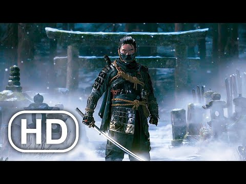 (New) Ghost of tsushima full movie cinematic (2021) 4k ultra hd samurai action