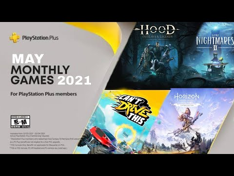 (New) Playstation plus may 2021 free games | ps4 e ps5 | ps plus may monthly games