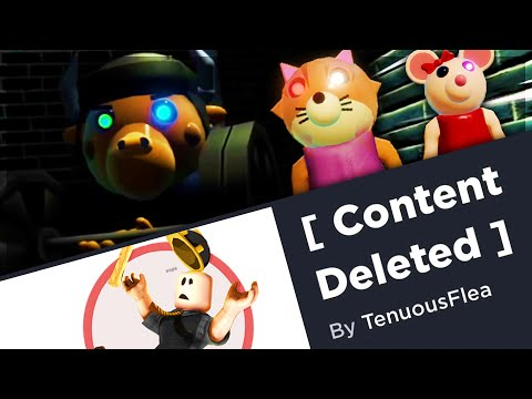 (HD) Piggy games getting deleted! + new skins revealed!   roblox piggy