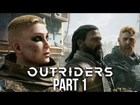 (New) Outriders ps5 walkthrough gameplay part 1 - intro (playstation 5)