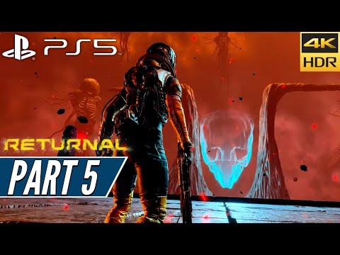 (New) Returnal (ps5) walkthrough gameplay 4k 60fps hdr + ray tracing [part 5] nemesis - no commentary