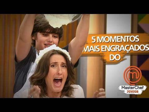 (New) Cinco momentos divertidos do masterchef jr