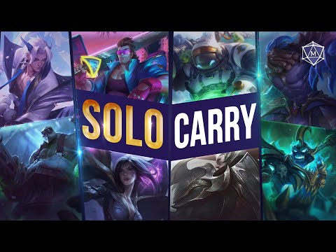 (New) 16 solo carry champions for season 11 solo queue