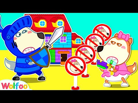 (Ver Filmes) Stop, lucy! colorful lego playhouse is not yours - learning good manners for kids | wolfoo channel
