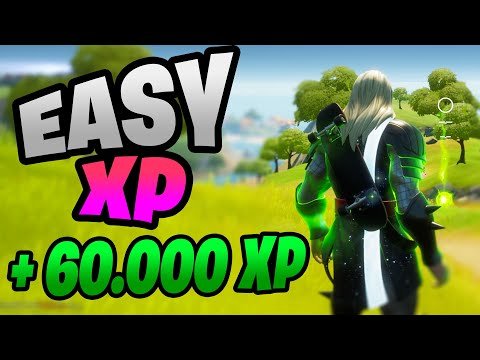 (HD) Fortnite season 4 easy xp with these secret challenges! (level up fast e easy xp - no glitch)