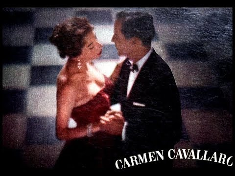 (New) Carmen cavallaro, 1958: dancing in the dark - decca dl 78961 - (complete lp)