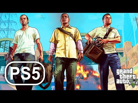 (New) Gta 5 ps5 gameplay walkthrough grand theft auto 5 full game no commentary