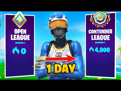 (VFHD Online) 4000 arena points in a day! (fortnite arena gameplay) (season 6)
