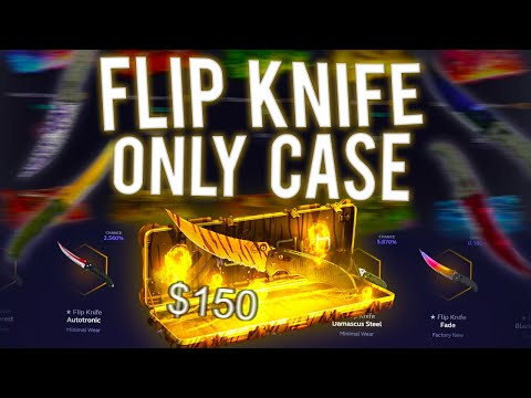 (New) The flip knife only case!? (skin.club)